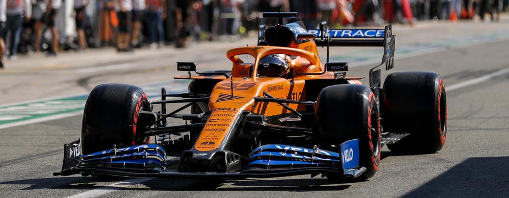 McLaren-Renault MCL35, Gran Premio de Italia, Foto: McLaren