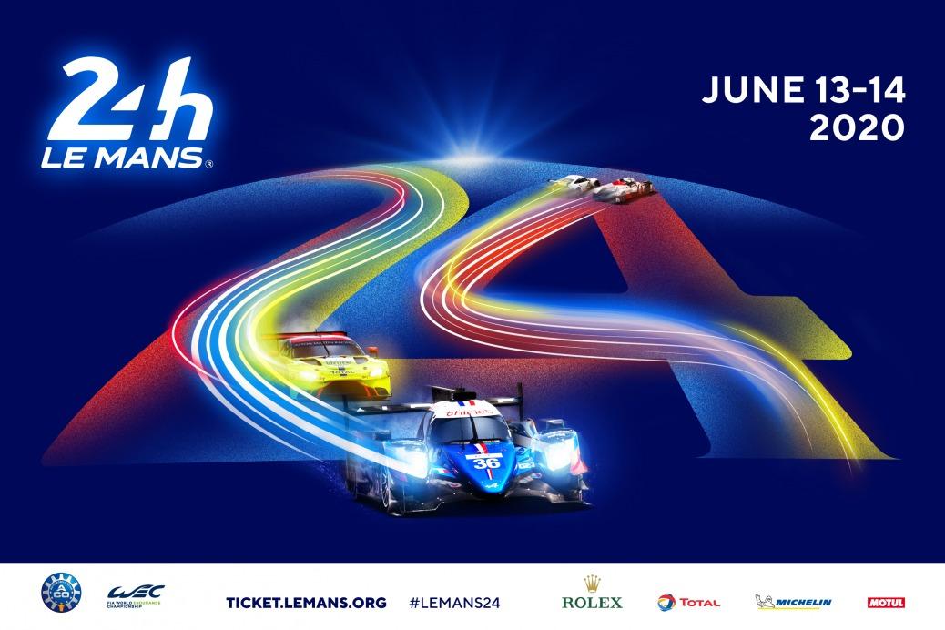 Póster 24 Horas de Le Mans 2020