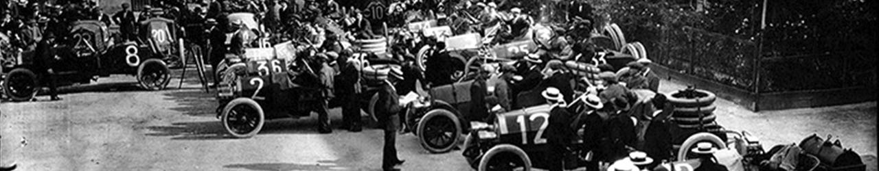 Salida de la Targa Florio de 1913, Grandes Premios de Automovilismo