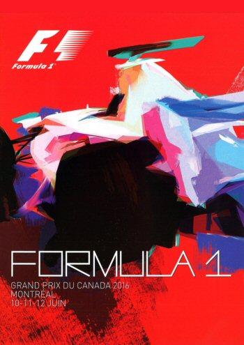 Póster Gran Premio de Canadá 2016