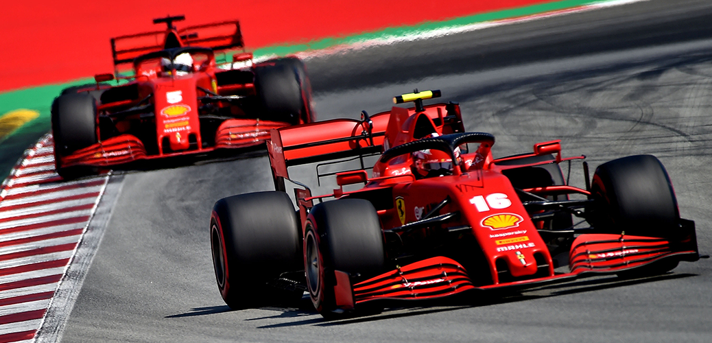 Ferrari SF1000 durante el Gran Premio de España 2020, Foto: Ferrari