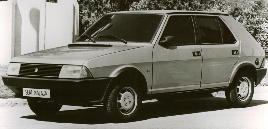 No es un error, el SEAT Ronda se exportó a algunos países como Málaga Hatchback. Foto: SEAT UK