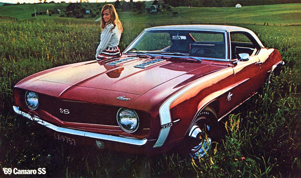Chevrolet Camaro SS350 '69, Foto: Catálogo 1968.