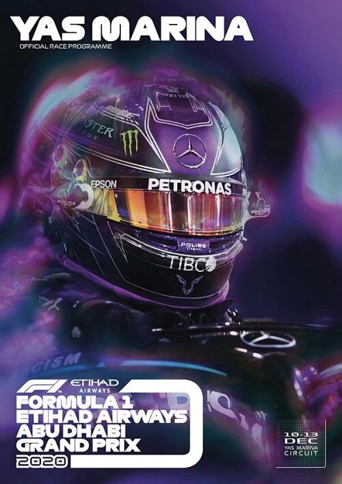 Póster Gran Premio de Abu Dhabi 2020